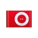 iPod Shuffle Red Png Icon