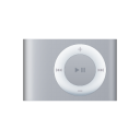 iPod Shuffle Silver Png Icon