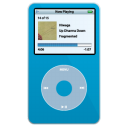 iPod Video Blue png icon