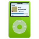iPod Video Green png icon