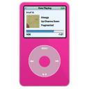 iPod Video Pink Png Icon