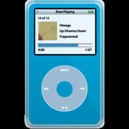 iPod Video Blue