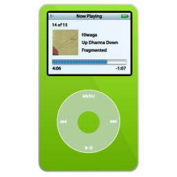 iPod Video Green