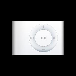 iPod Shuffle White large png icon