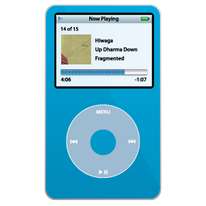 iPod Video Blue large png icon