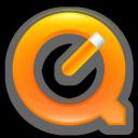 Quicktime 7 Orange Png Icon