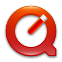 Quicktime 7 Red Png Icon