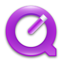 Quicktime 7 Violet Png Icon