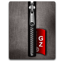 Gz silver black Png Icon