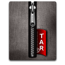 Tar silver black Png Icon