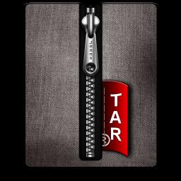 Tar silver black