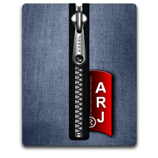 Arj silver blue large png icon