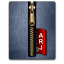 Arj gold blue large png icon