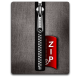 Zip silver black large png icon