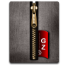 Gz gold black large png icon