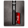 Gz silver black large png icon