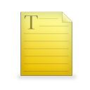 text file Png Icon