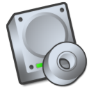 harddrive cdrom Png Icon