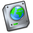 harddrive network Png Icon
