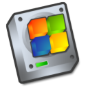 harddrive windows Png Icon
