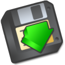 save to floppy Png Icon