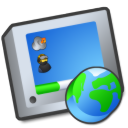 virtual desktop Png Icon