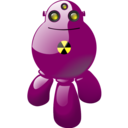 Atomic robot Png Icon