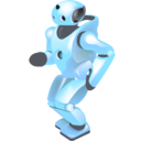 Dancing robot Png Icon