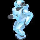 Dancing robot Png Icon