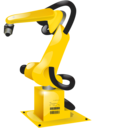 Industrial robot Png Icon