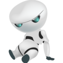 Sad robot Png Icon