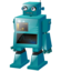 Classic robot large png icon