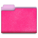 leather pink 01 Png Icon