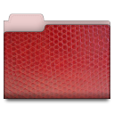 leather red 01 Png Icon