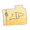 Filetype zip Png Icon