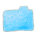 Folder blue Png Icon