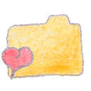 Folder yellow favorites Png Icon