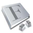 fontbook Png Icon