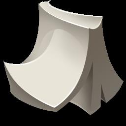 Lineless design Icon 50