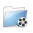 Folder Videos copy png icon