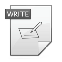 writing png icon