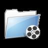 Folder Videos copy large png icon