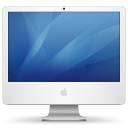 iMac with iSight 24 Inch Png Icon