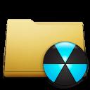 classic folder burn Png Icon