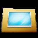 classic folder desktop Png Icon