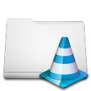 white folder projects Png Icon