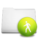 white folder public Png Icon