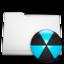 white folder burn large png icon