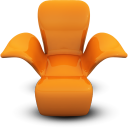 orangeseat Png Icon