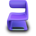 purpleseat Png Icon